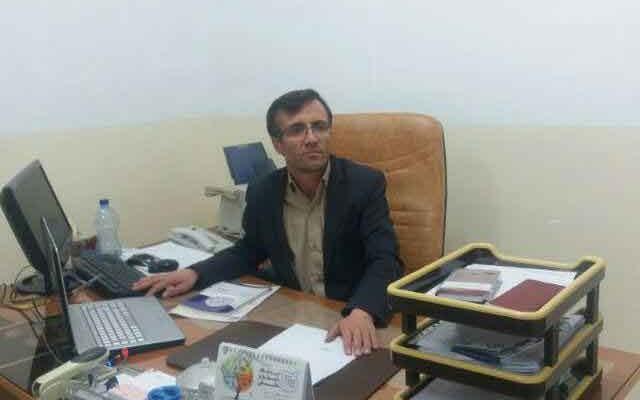 حسین منصوری بخشدار لاجان