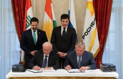 قرارداد نفتی روسیه و اقلیم کردستان