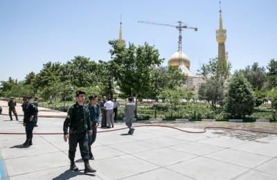 نقش تروریست زن در حملات تروریستی تهران