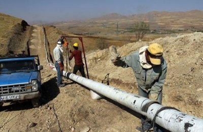 گاز رسانی روستاهای آذربایجان غربی