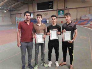 تیم دومیدانی نوجوانان پیرانشهر