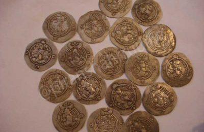 مجموعه کتاب های مرجع سکه شناسی سکه های ساسانی پیرانشهر