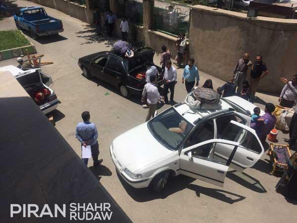 جمع آوری متکدیان از سطح شهر پیرانشهر توسط شهرداری+گزارش تصویری
