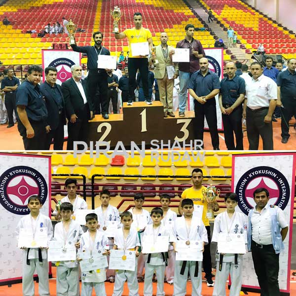 قهرمانی تیم کاراته پیرانشهر در مسابقات کشوری