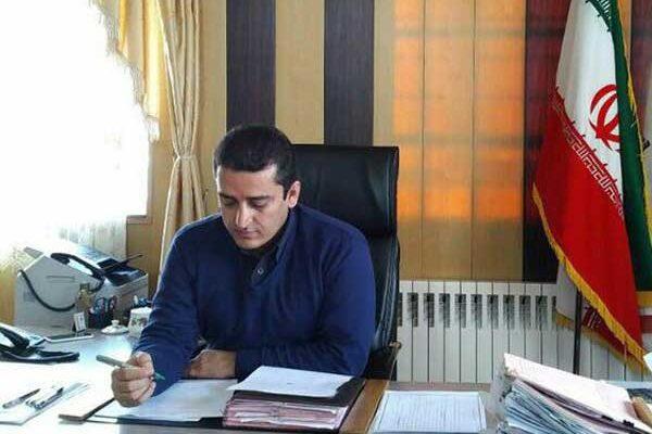 کامران فاتح شهردار پیرانشهر روز خبرنگار