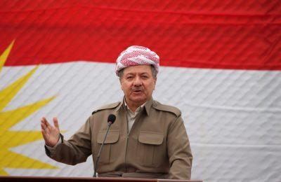 مسعود بارزانی کرکوک