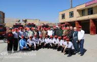افزایش حوادث عملیاتی ایستگاه آتش نشانی پیرانشهر نسبت به سال ۹۶