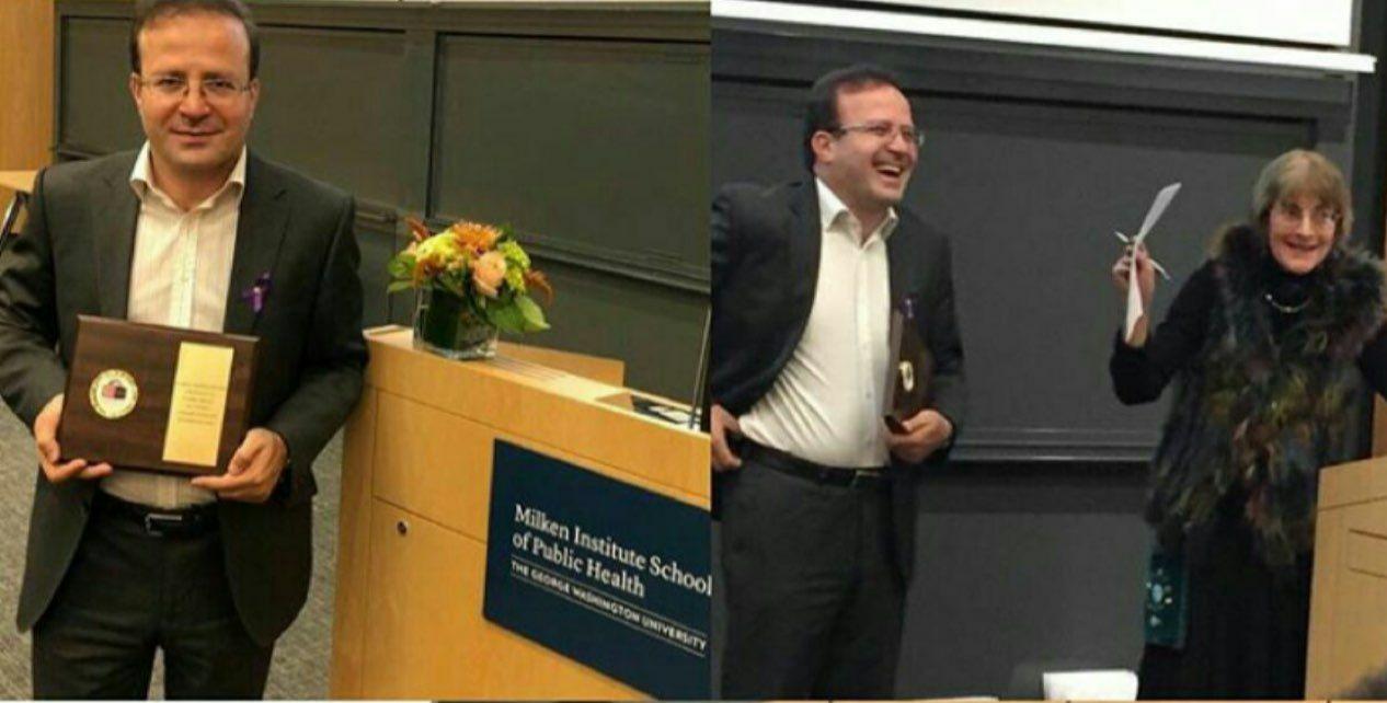  پژوهشگر کورد اهل پیرانشهر جایزه بنياد جهانى صلح در دانشگاه جورج واشنگتن را به خود اختصاص داد