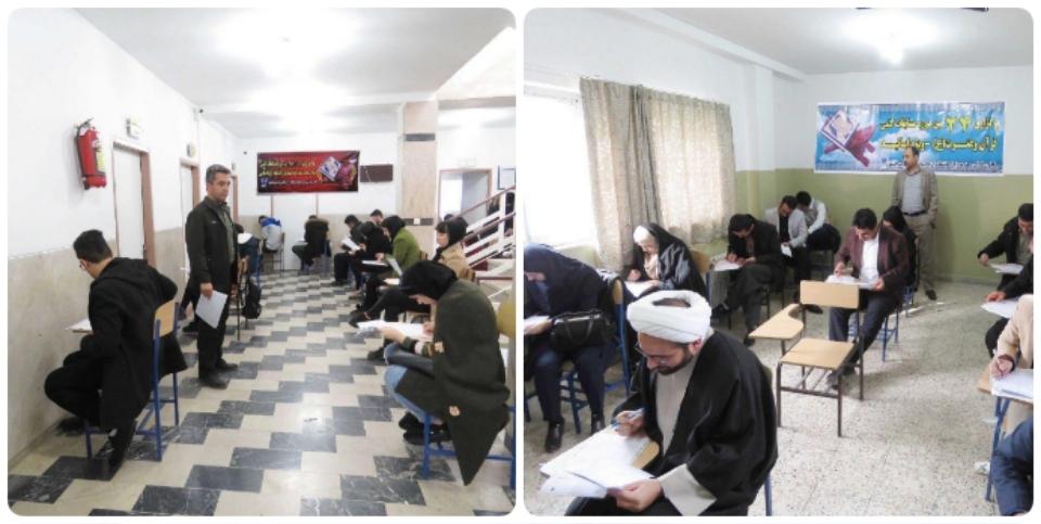 همزمان با سراسر کشور صورت گرفت: رقابت دانشجویان دانشگاه آزاد اسلامی پیرانشهر در بزرگترین رقابت قرآنی کشور