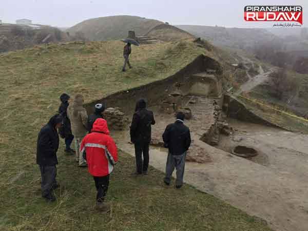 آثار 8 هزارساله درمحوطه های باستانی کانی سیو پیرانشهر یافت شد