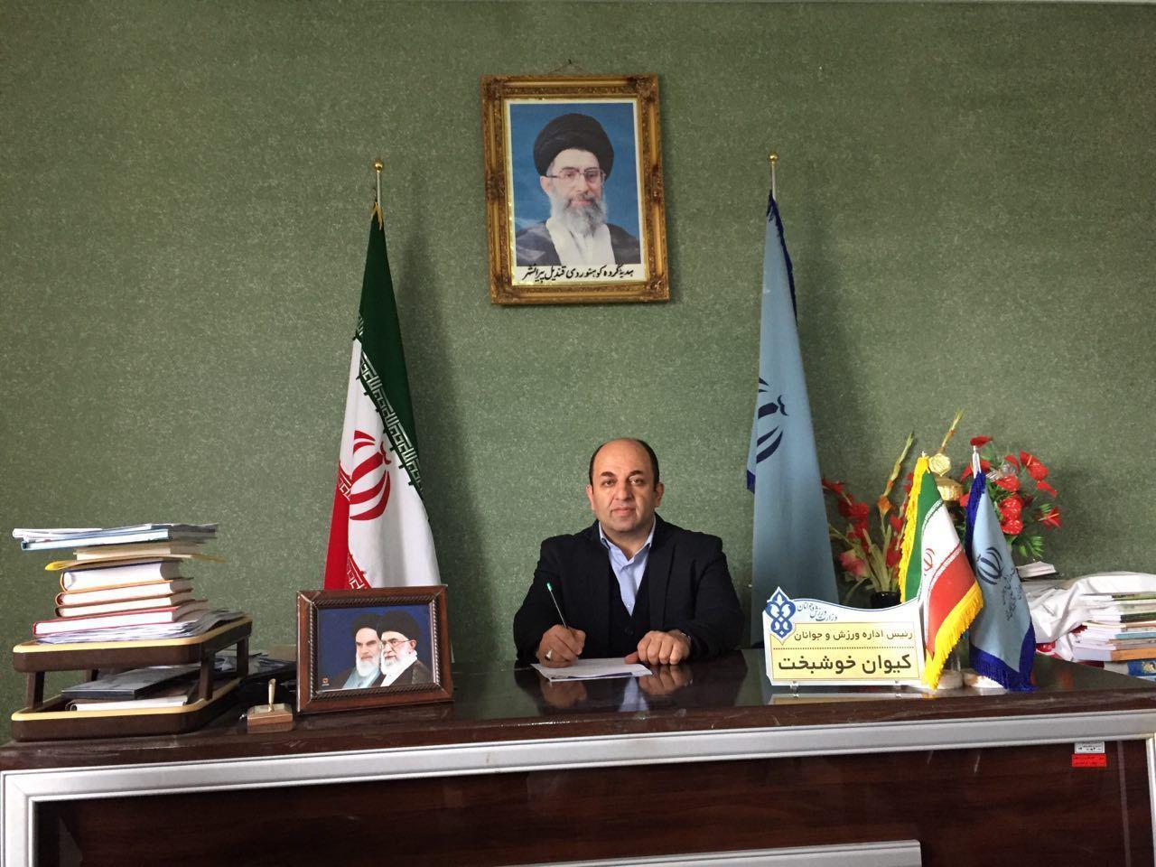 رییس جدید هیات فوتبال پیرانشهر به هیات فوتبال استان معرفی شده است