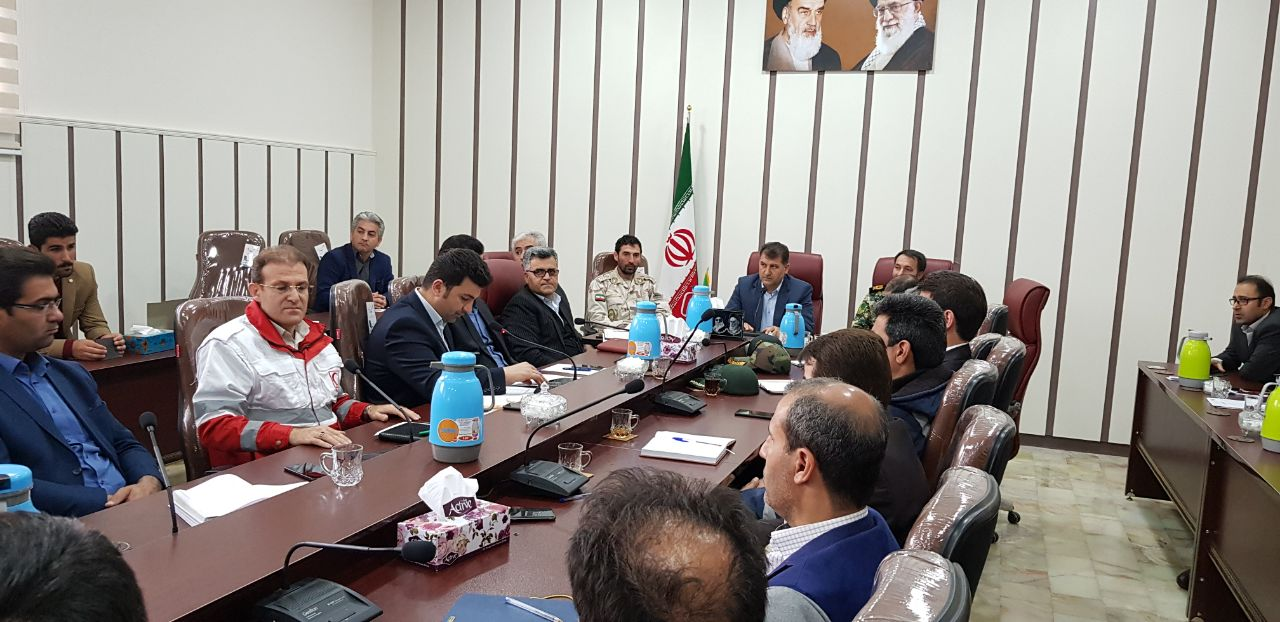 تشکیل تیم مدیریت بحران در پیرانشهر جهت مقابله با حوادث احتمالی