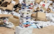 بیش از ۳۱۱ هزار نخ سیگار قاچاق در نوار مرزی آذربایجانغربی کشف شد