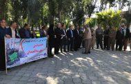 برگزاری همایش پیاده روی سالمندان در پیرانشهر