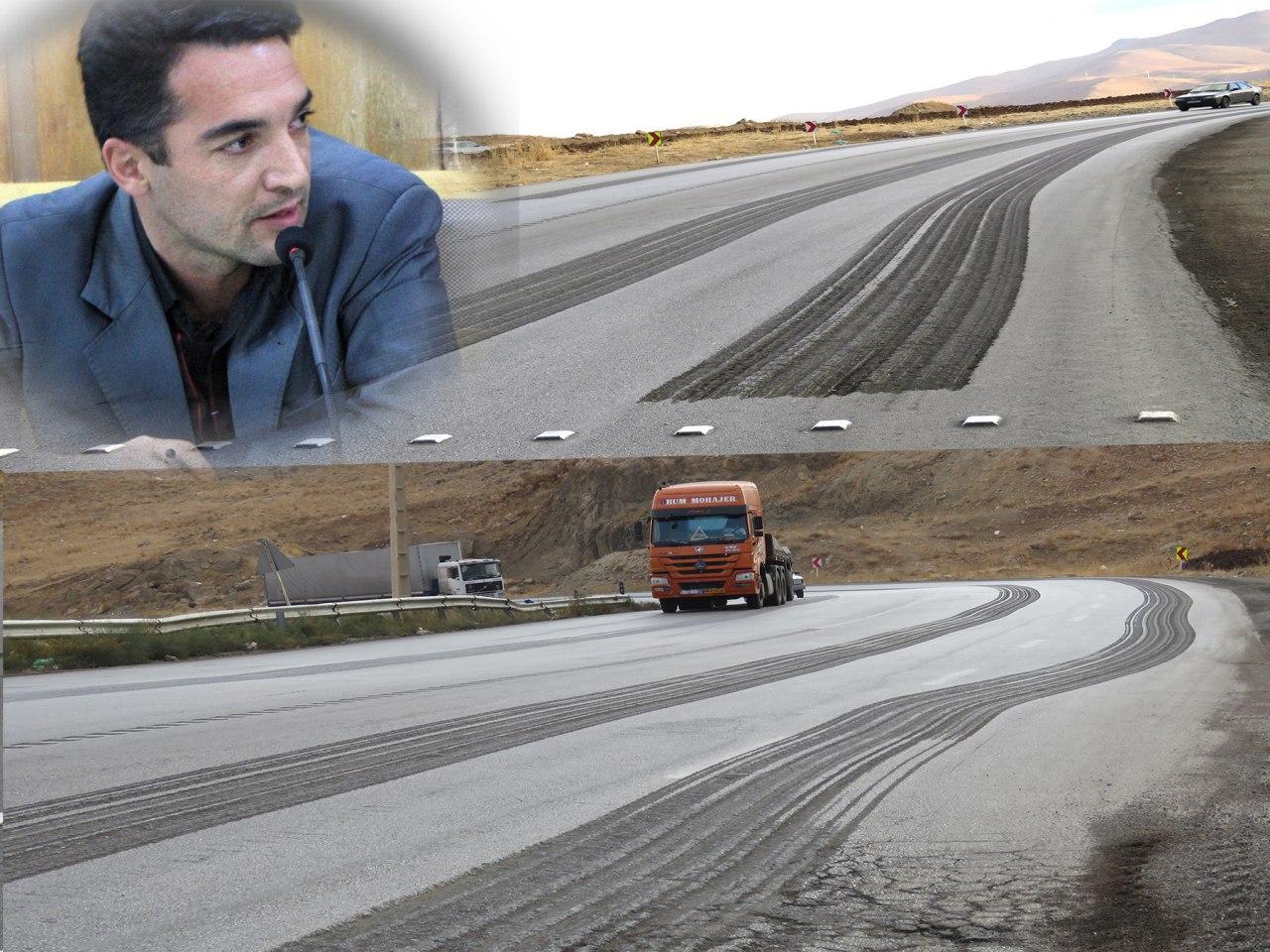 واکنش اداره راه و ترابری پیرانشهر به گزارش خبرنگار کرد پرس در مورد شیارهای جاده پیرانشهر- نقده